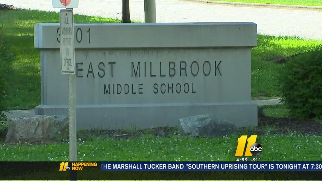Gun found at middle school