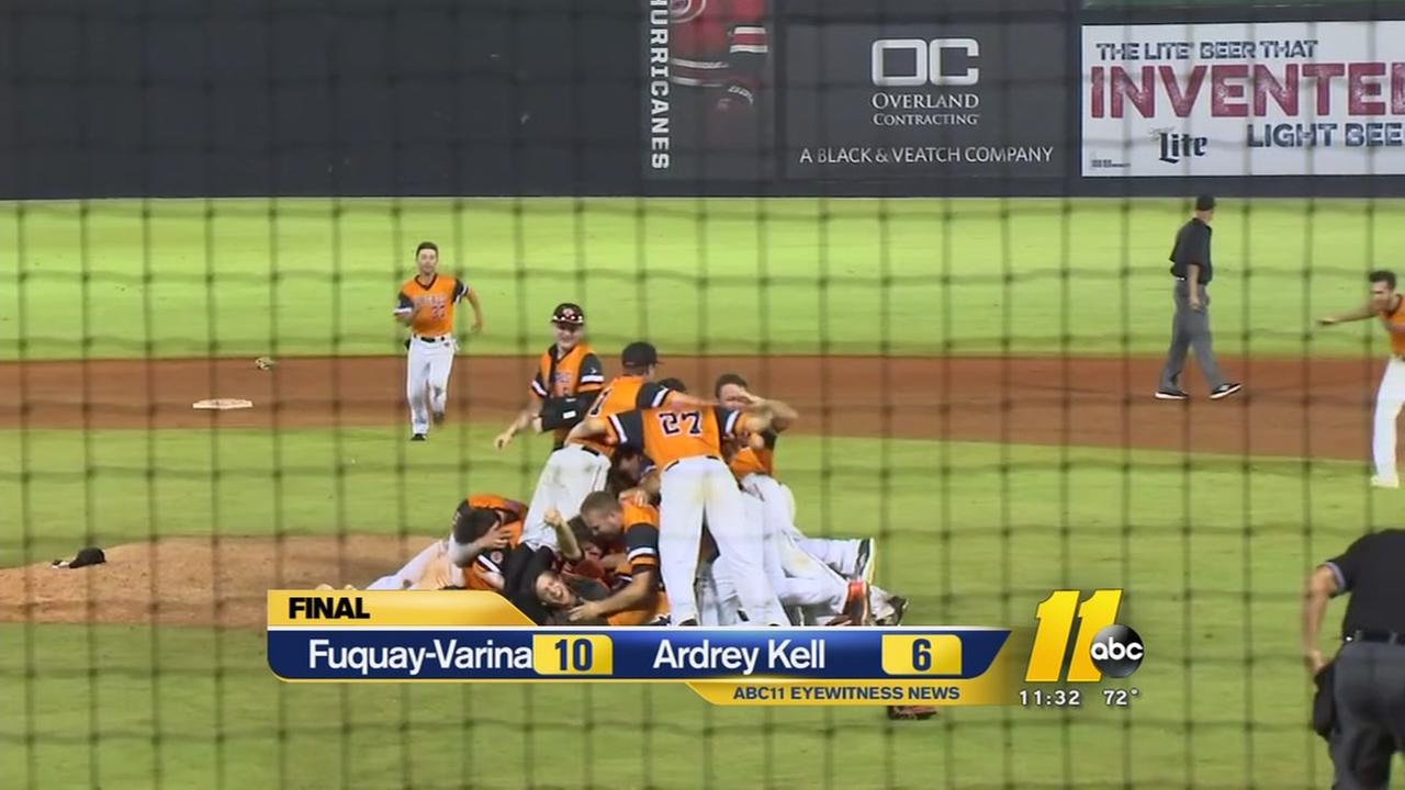 Fuquay-Varina baseball wins first title since 02