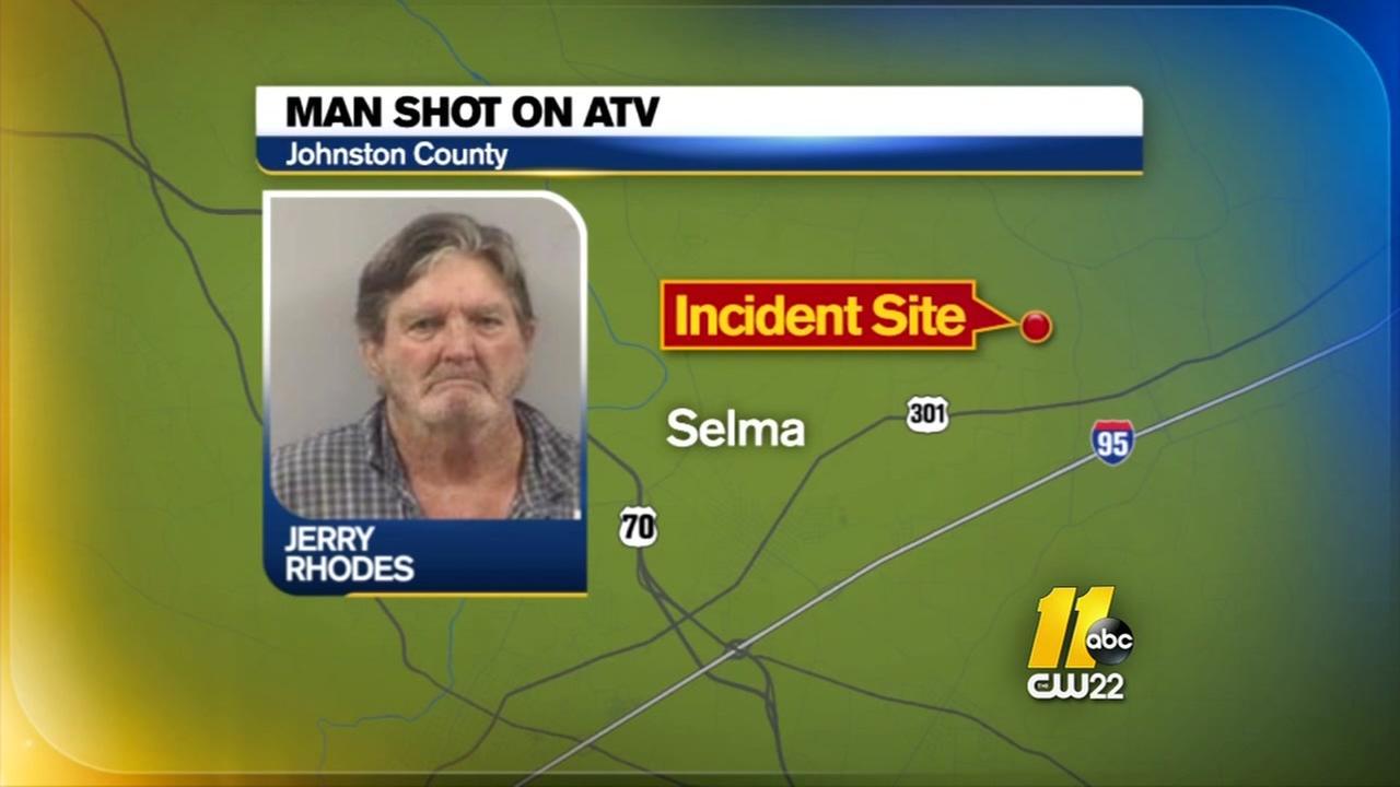Selma man charged for shooting at neighbor riding ATV