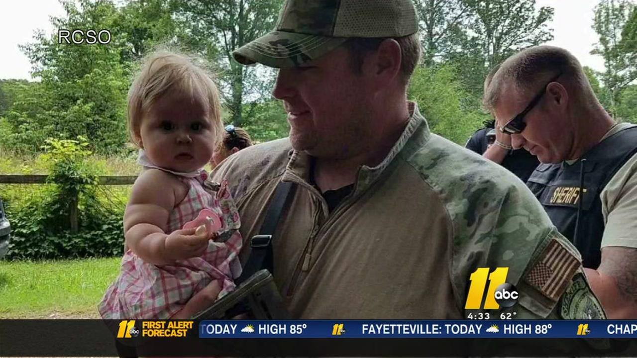 AMBER Alert canceled: 7-month-old baby found safe, father arrested in NC