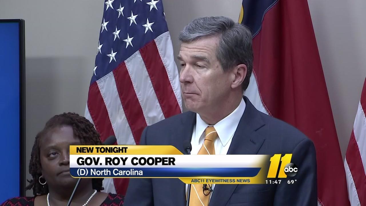 Cooper vetoes legislative budget plan