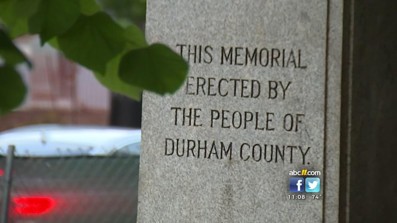 Confederate monument meeting held in Durham