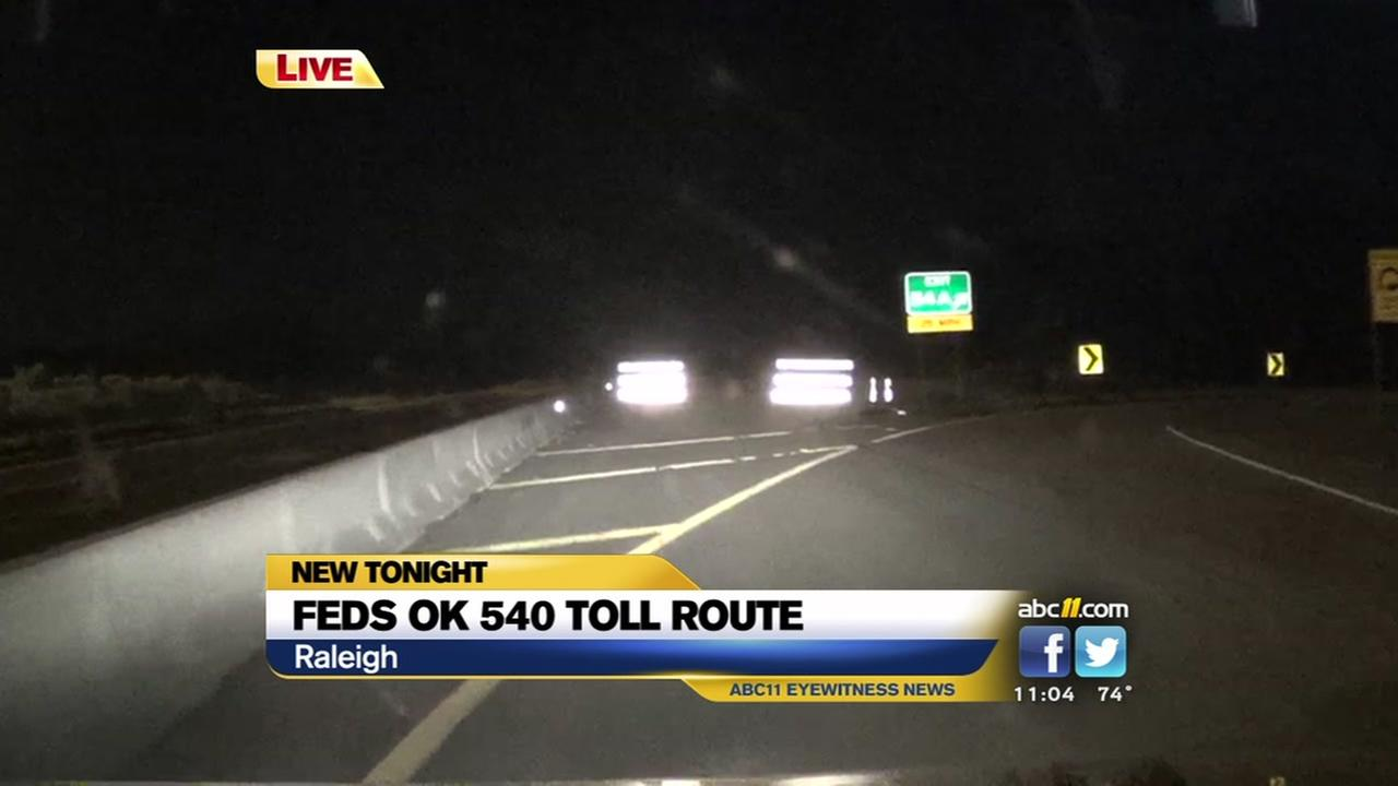 Feds OK 540 toll route