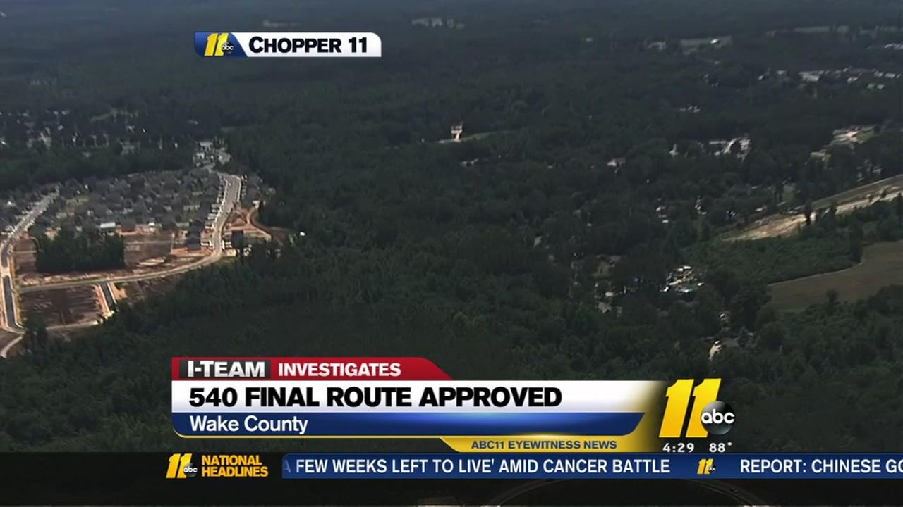 Expansion of 540 will impact hundreds of homes and businesses
