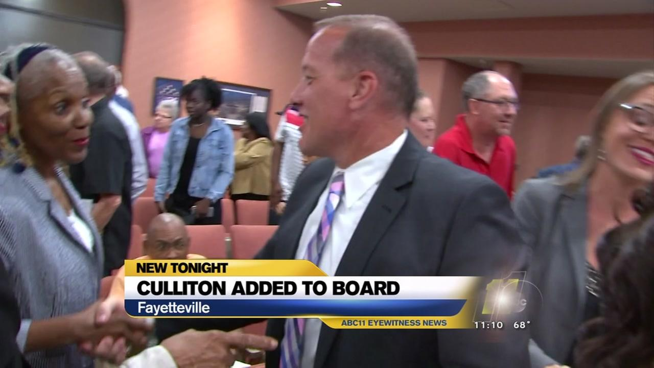 Dan Culliton added to Fayetteville council