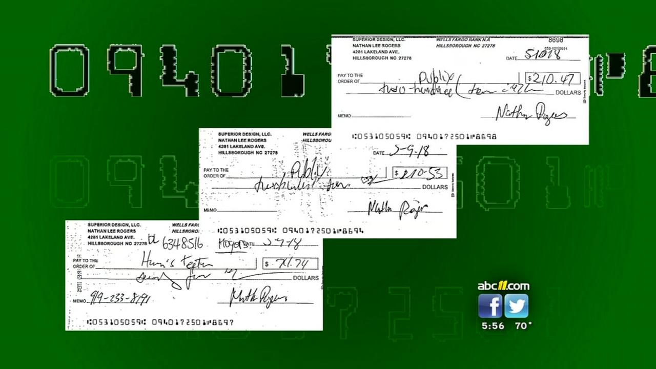 Raleigh business victim of check fraud scam