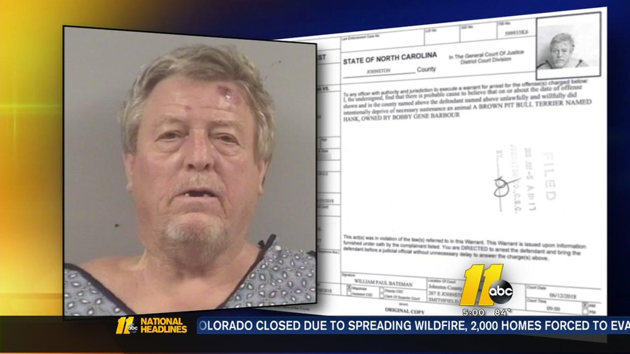 Johnston County man arrested for alleged animal cruelty