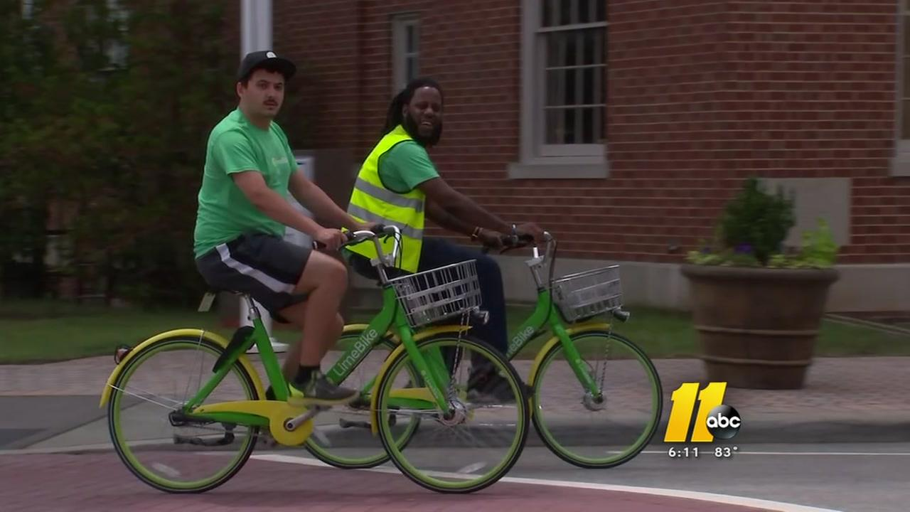 Wake Forest wins 2 year contract with bike share program