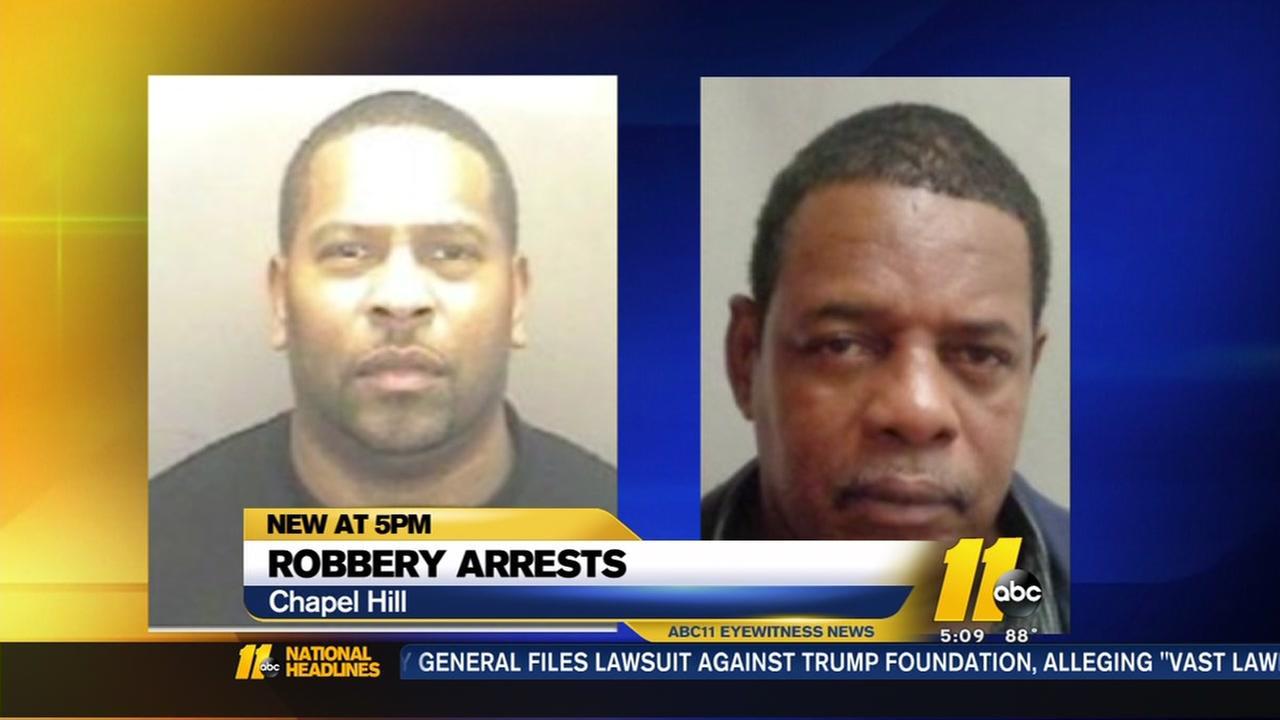 2 men arrested in bizrre Wal-Mart robbery