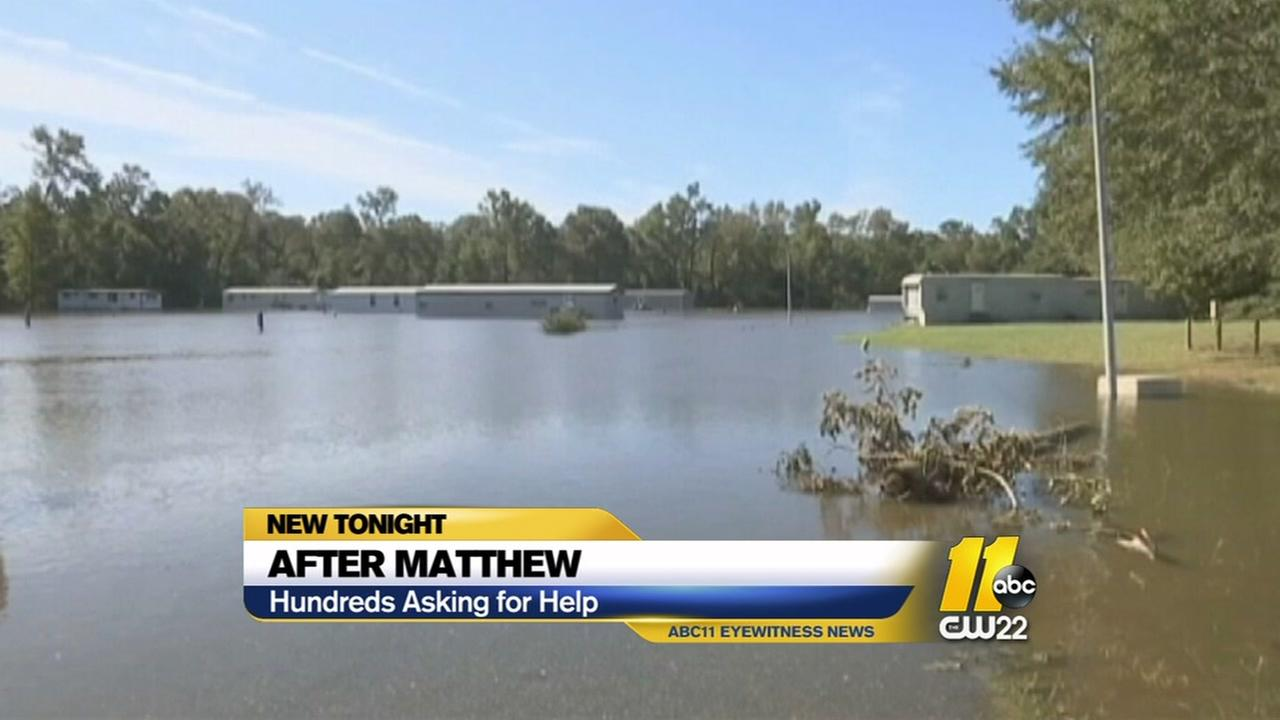 People in Wayne County still looking for governmental aid after Hurricane Matthew