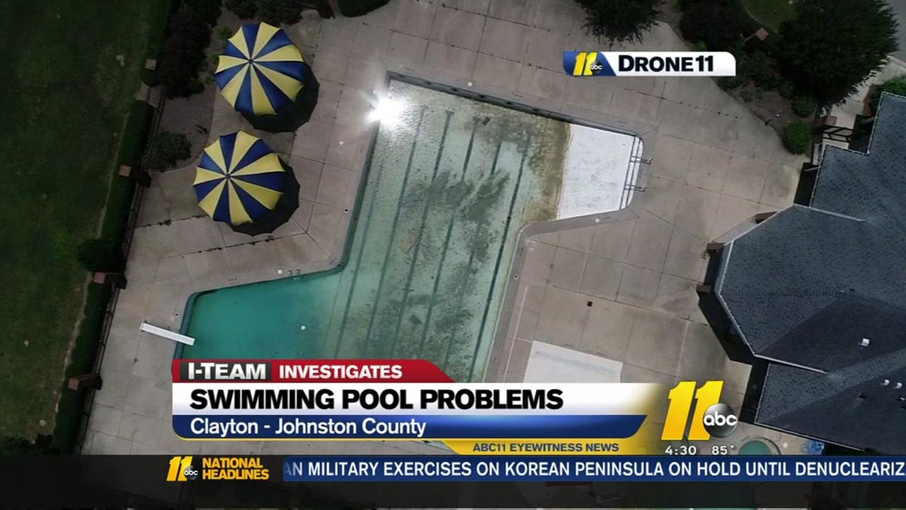 Clayton residents still waiting on promised swimming pool