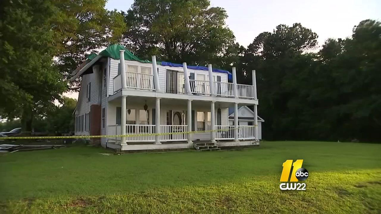 Storm blows roof off of Johnston Co. home
