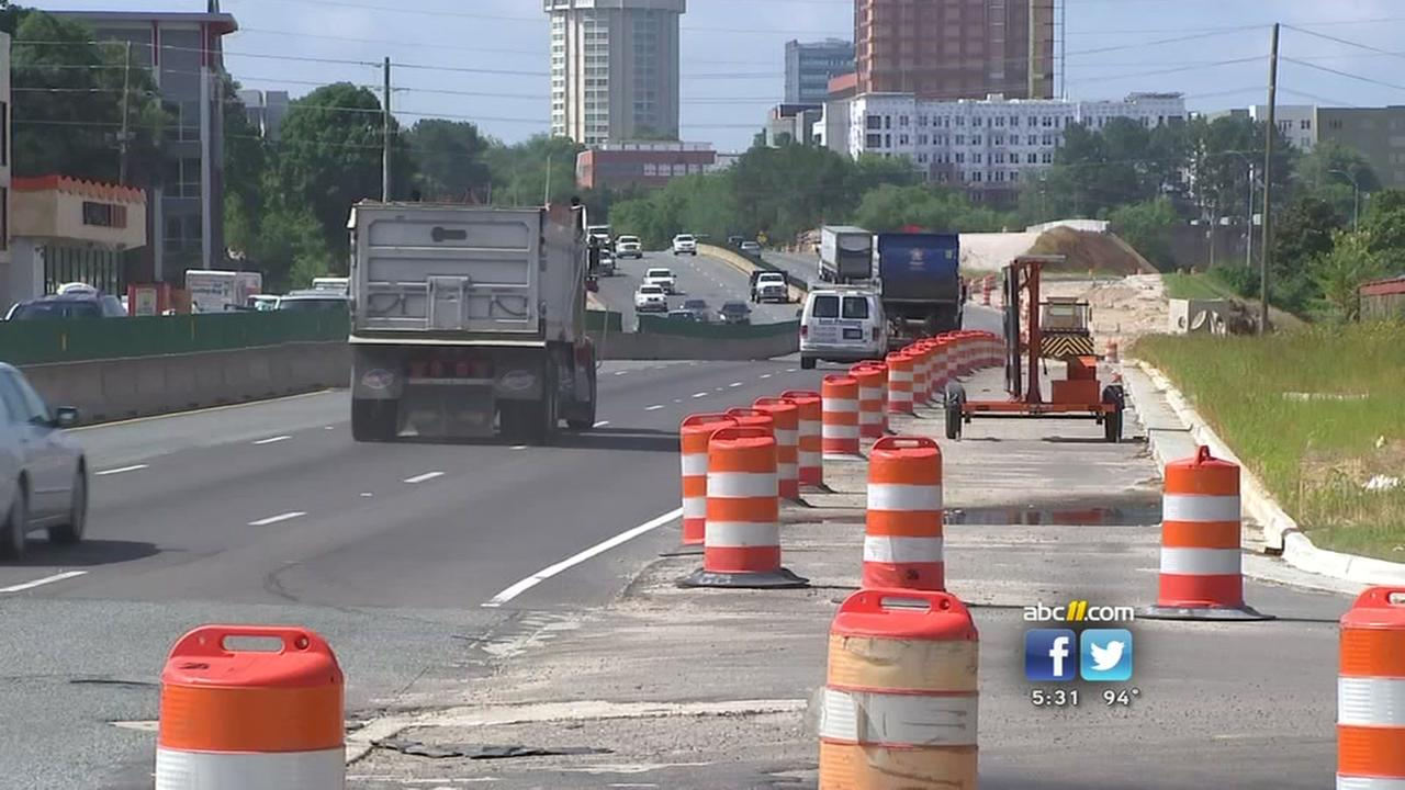 Detour in downtown Raleigh this weekend