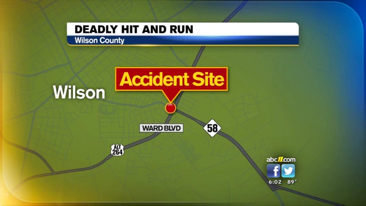 Wilson police searching for car and driver in fatal hit-and-run