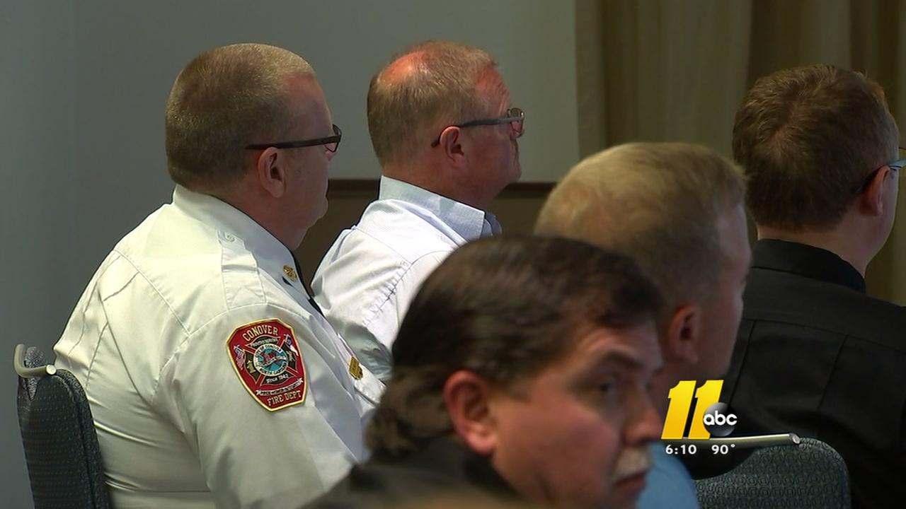 NC experiences decline in volunteer firefighters