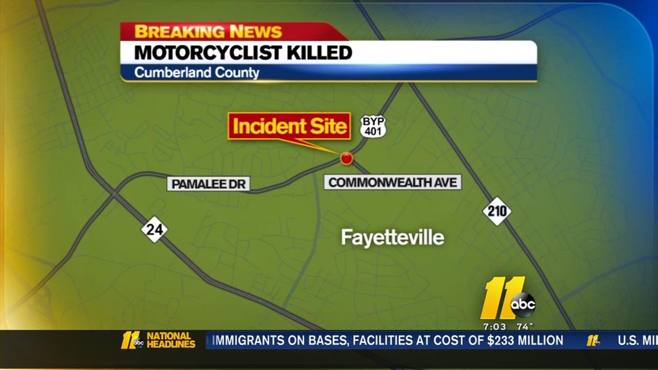 Motorcyclist killed in Cumberland County