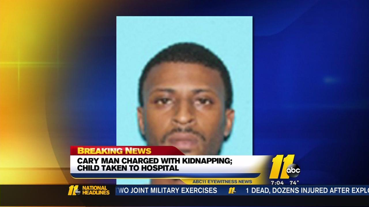 Cary man charged with kidnapping