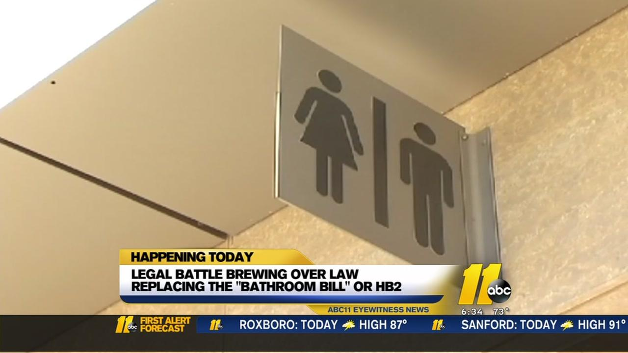 Bathroom bill fight returns to a North Carolina courtroom
