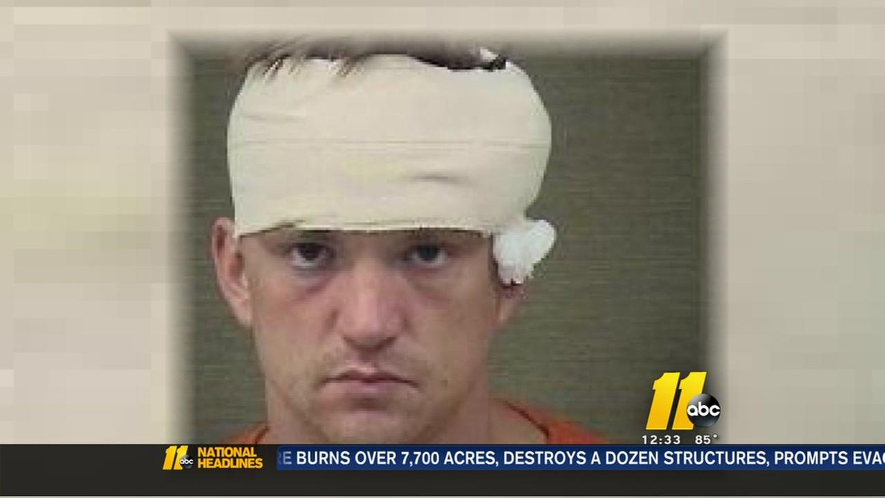 Man accused of firing shots at Harnett Co. officers appears in court
