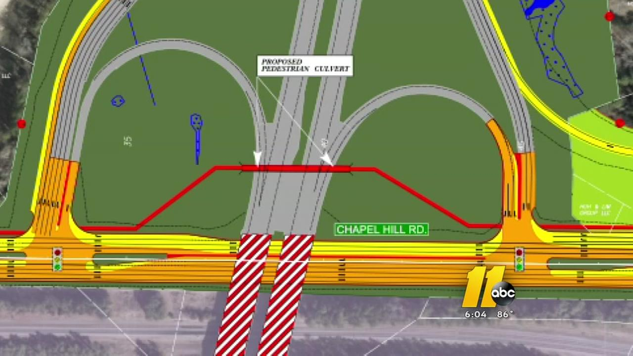 NCDOT plans to widen NC 54 in congested Morrisville