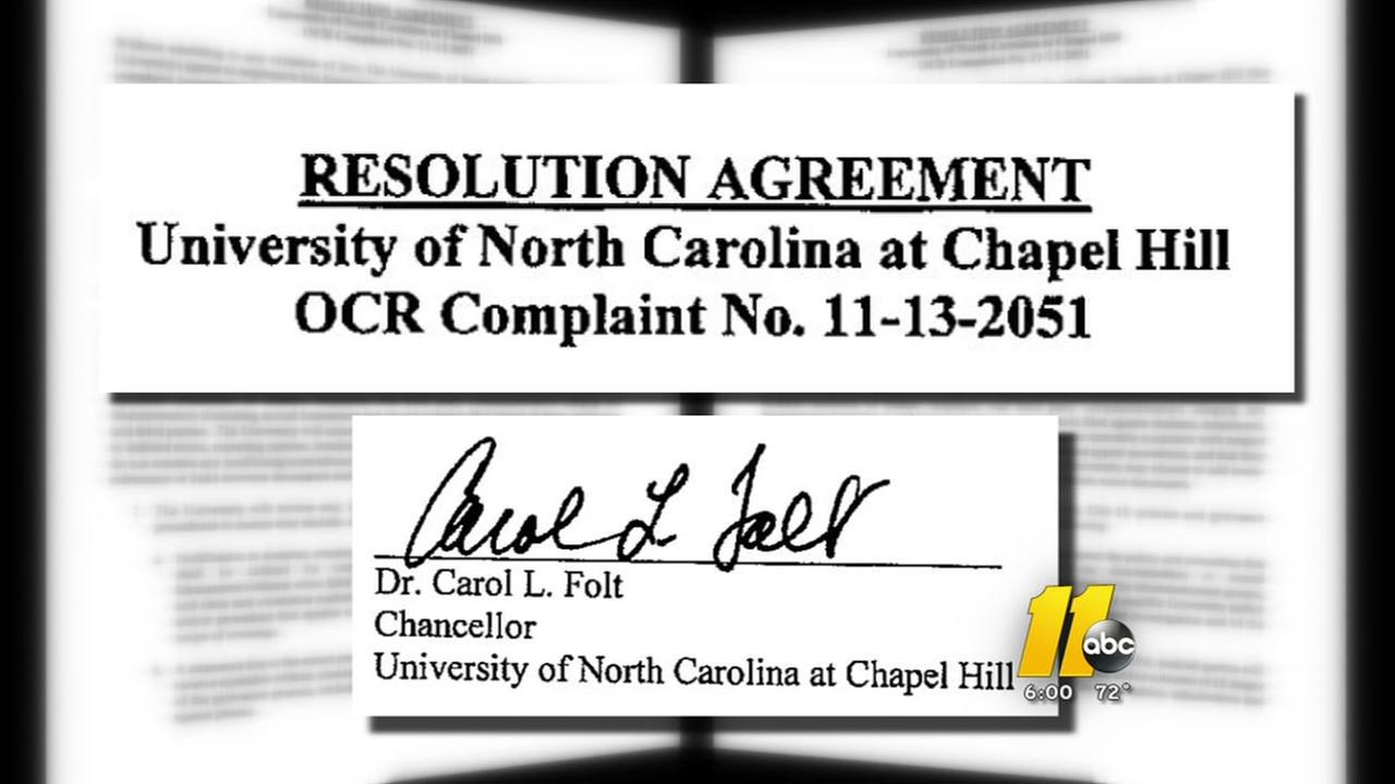 University of North Carolina found in violation of Federal law regarding Title IX