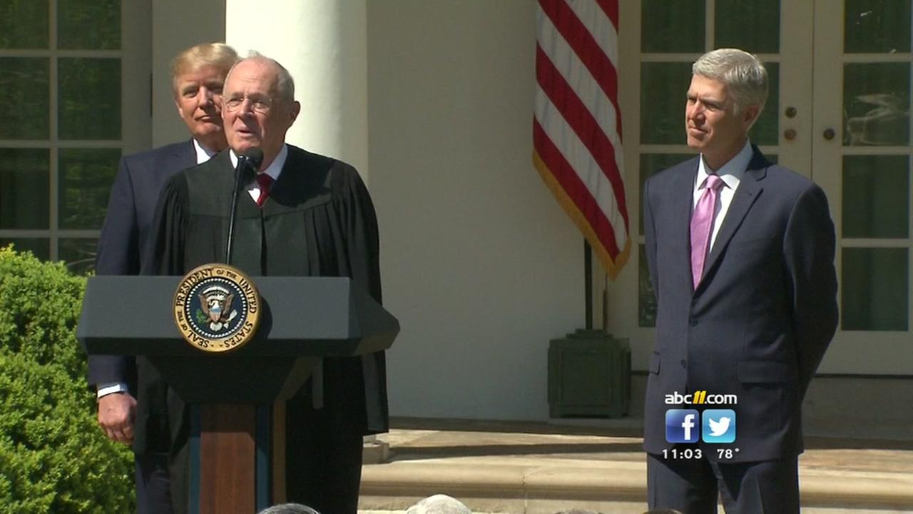 UNC law professor discusses retirement of Justice Kennedy