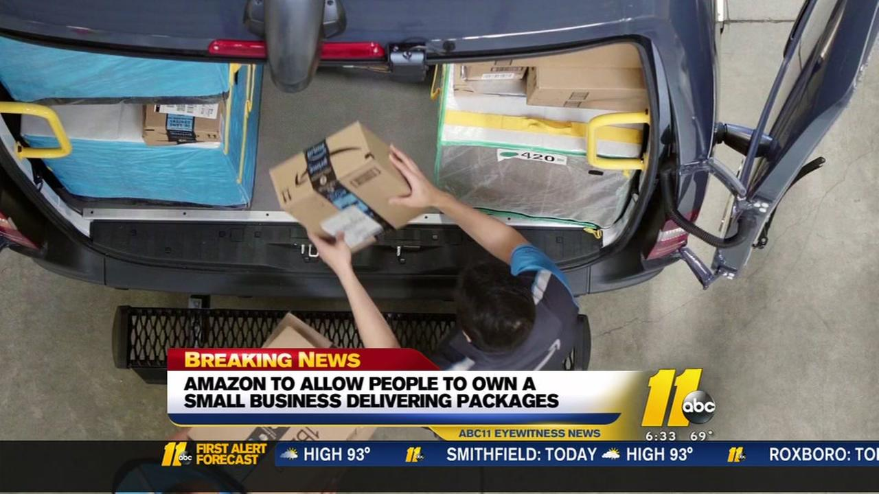 Amazon to help entrepreneurs start delivery businesses