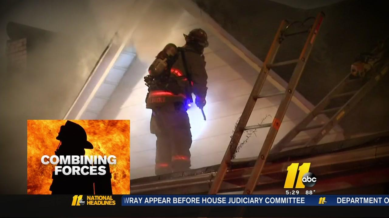 Durham City and County propose to combine Firefighting forces