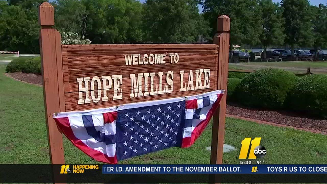Swimming Ban lifted at Hope Mills Lake just in time for the holiday