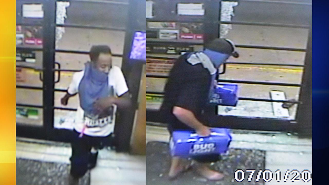 Burlington police seeking 2 suspects in Circus Foods robbery