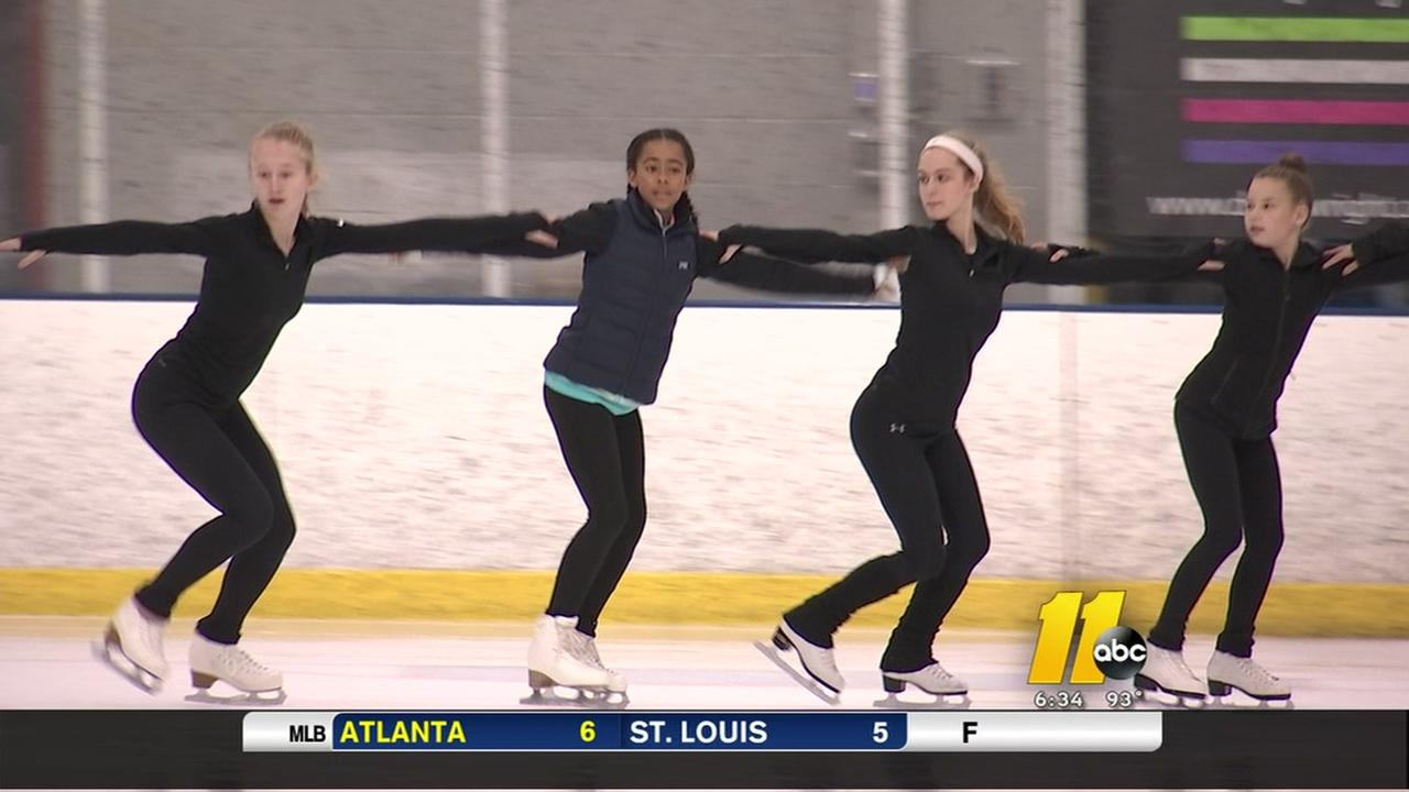 Synchronized skating coming to the Triangle