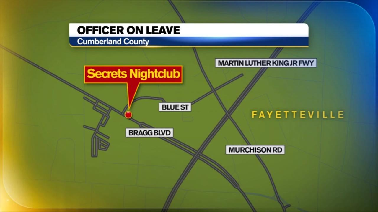 Fayetteville officer on administrative leave