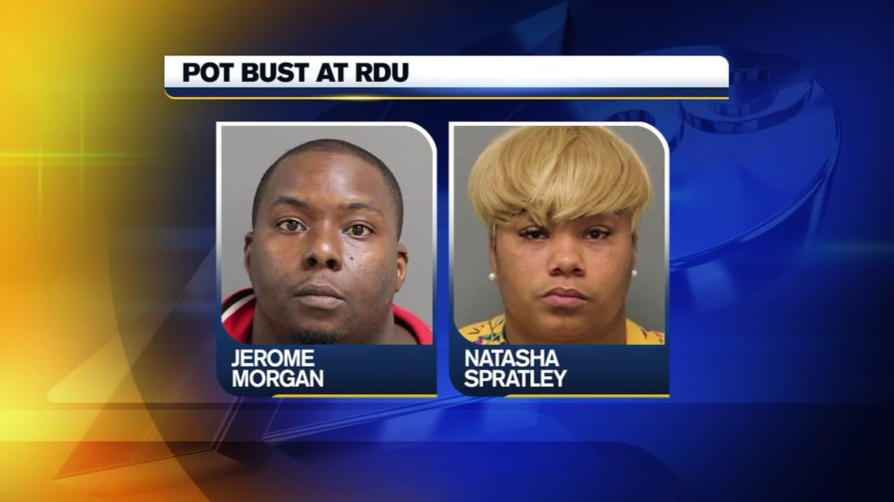 Pot bust at RDU