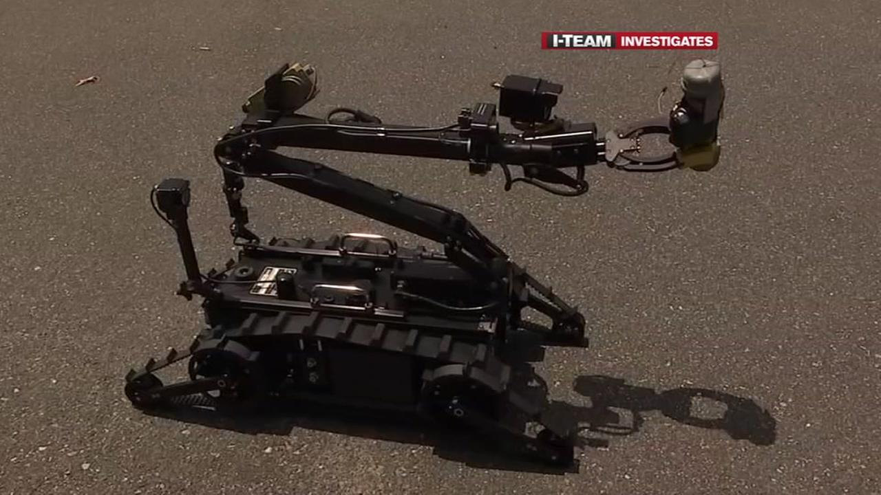 SBIs new bomb robots are small and nimble