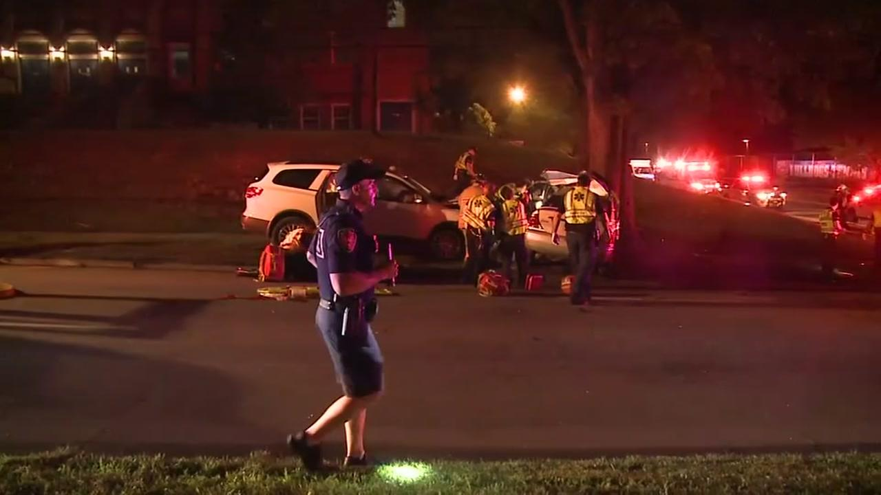 1 dead, 3 injured after SUV hits car