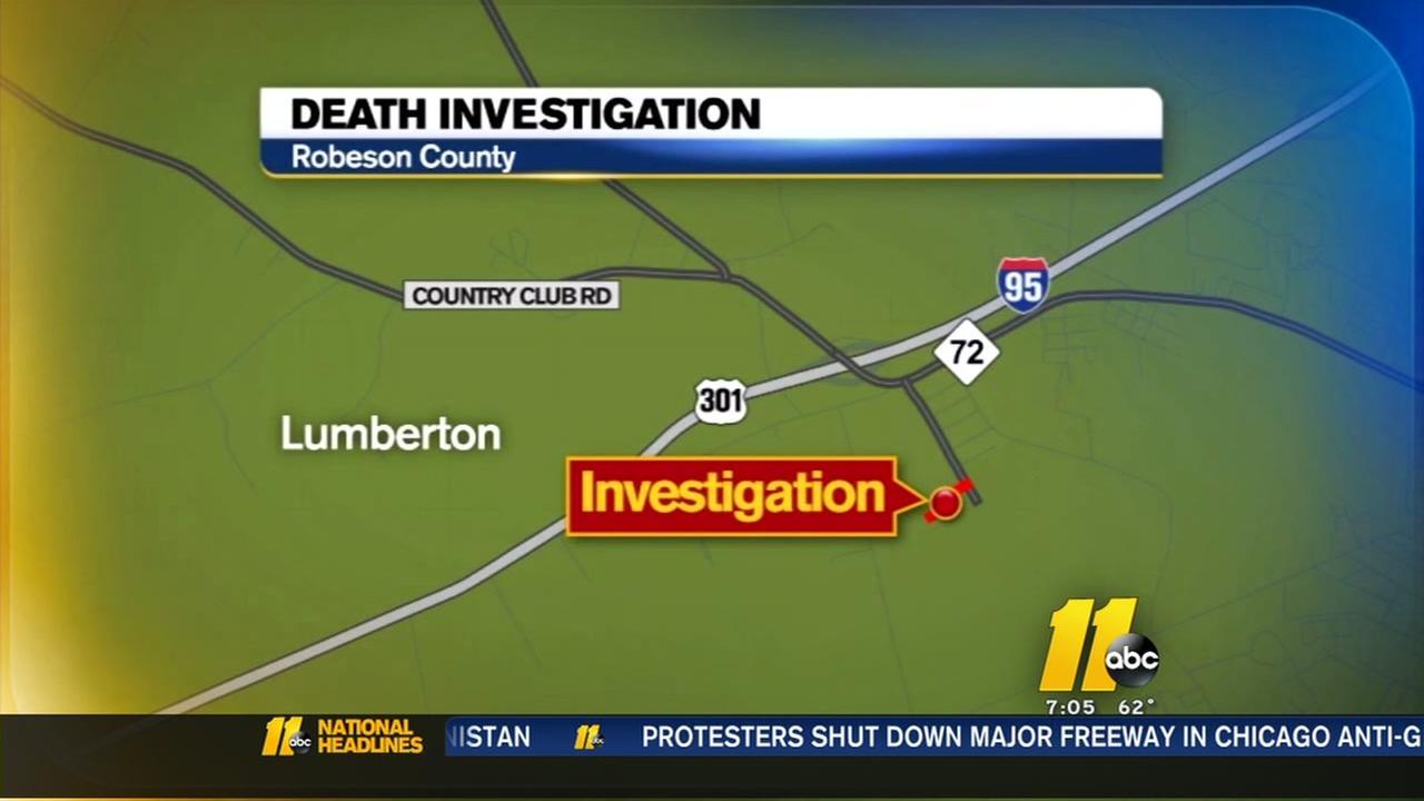 Lumberton death investigation