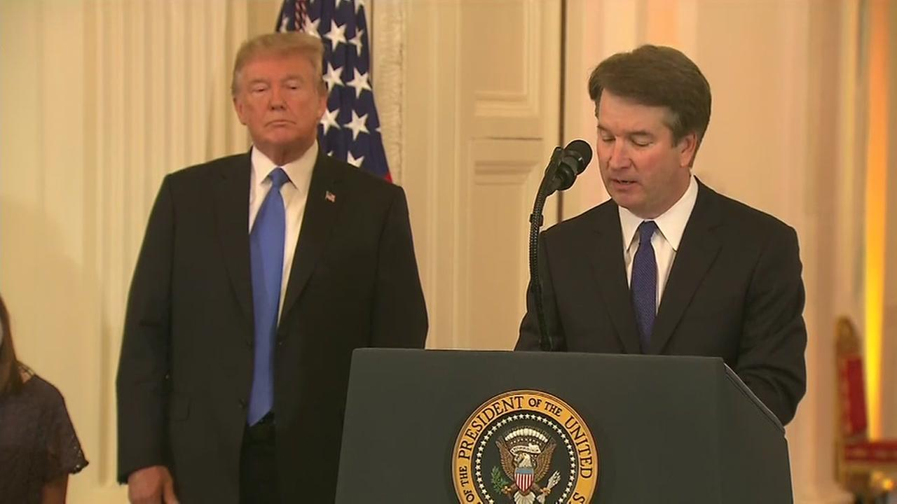 President Trump nominates Brett Kavanaugh for the Supreme Court