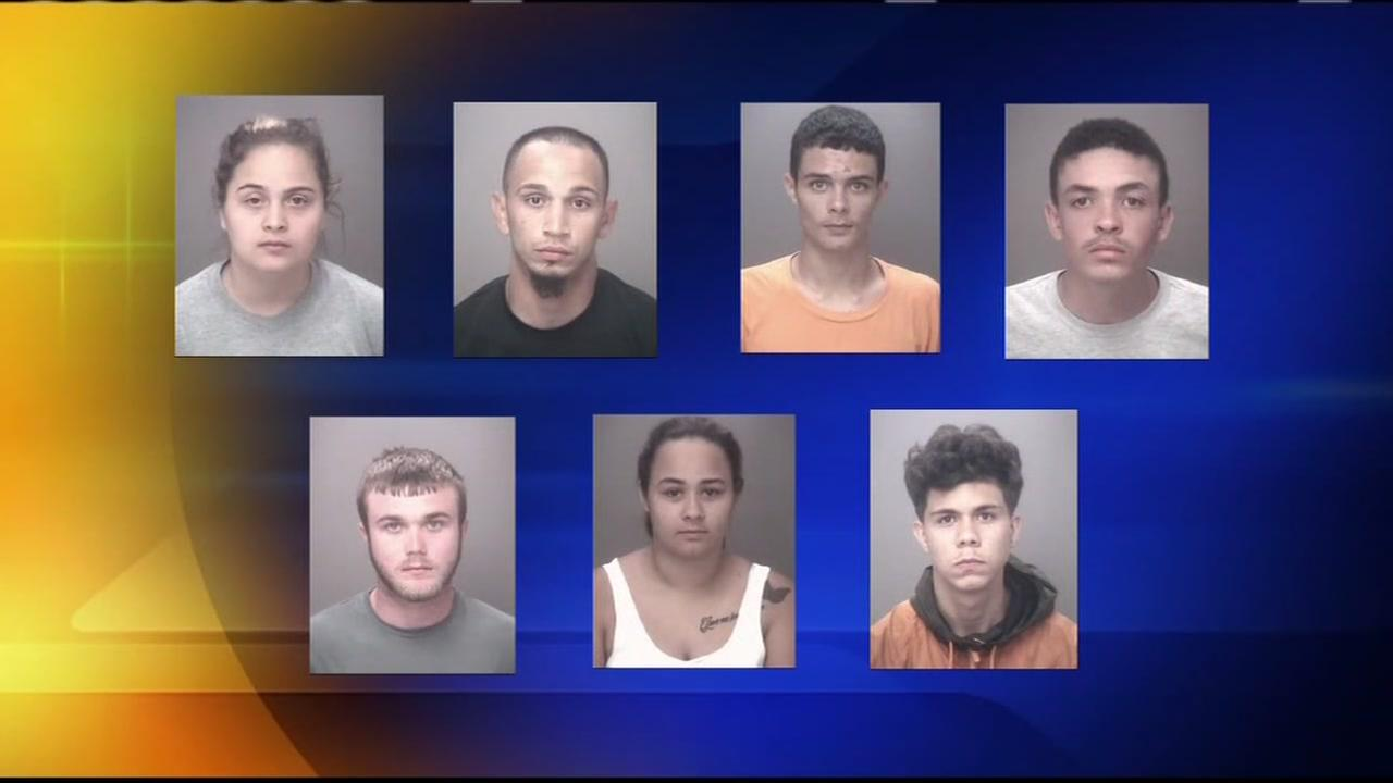Ten arrests in arson investigation