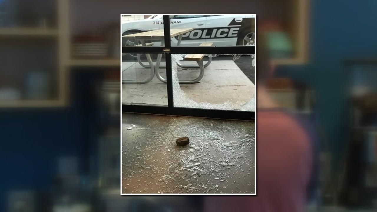 Robbers smash window at Durham bakery