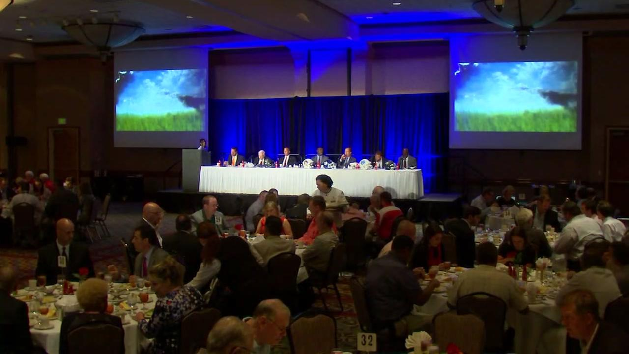 Triangle football coaches gather for 13th annual Pigskin Preview