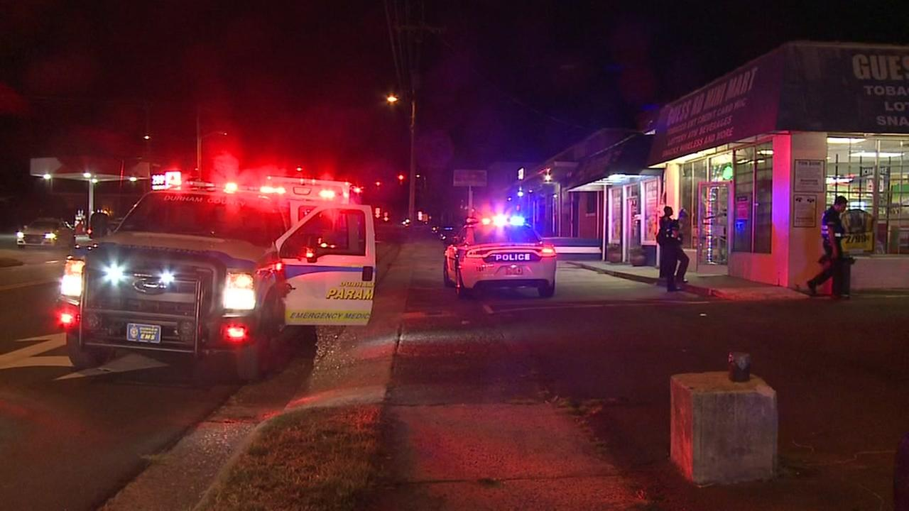 Police investigating after man shot near Durham mini mart
