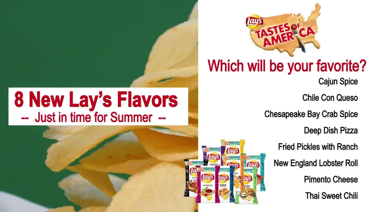 Lays slices up the Tastes Of America for summer 2018