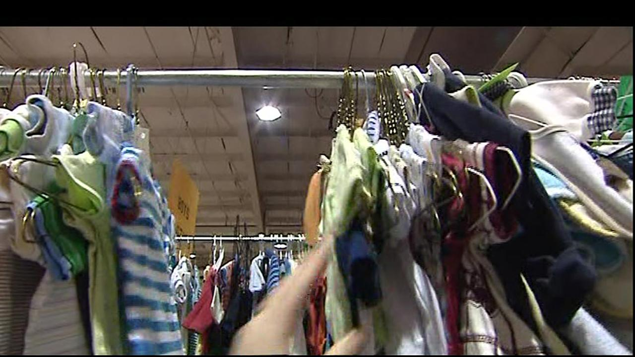 NC State Fairgrounds hosts largest kids consignment sale in the nation
