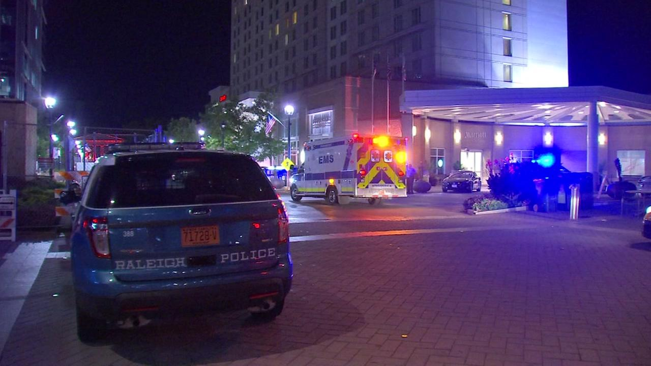 Man walks into Raleigh Marriott, tells staff he was assaulted