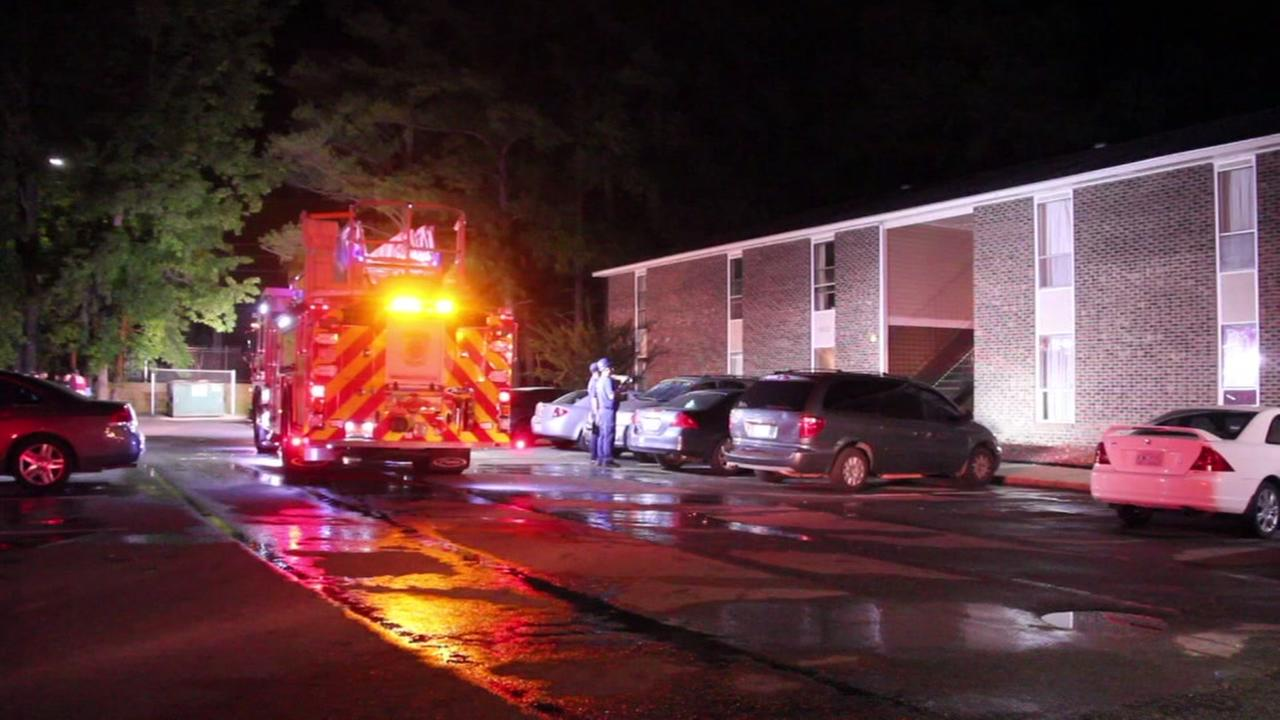 3 kids, 4 adults displaced after fire at Fayetteville home