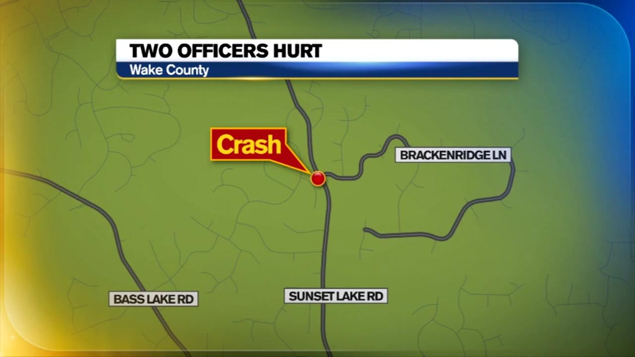2 Holly Springs police officers injured in motorcycle wreck