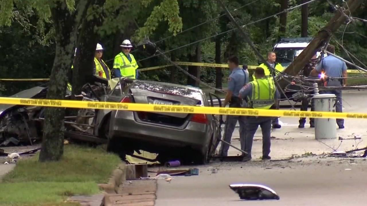 Victim IDd in fatal car crash that caused local power outage in Raleigh
