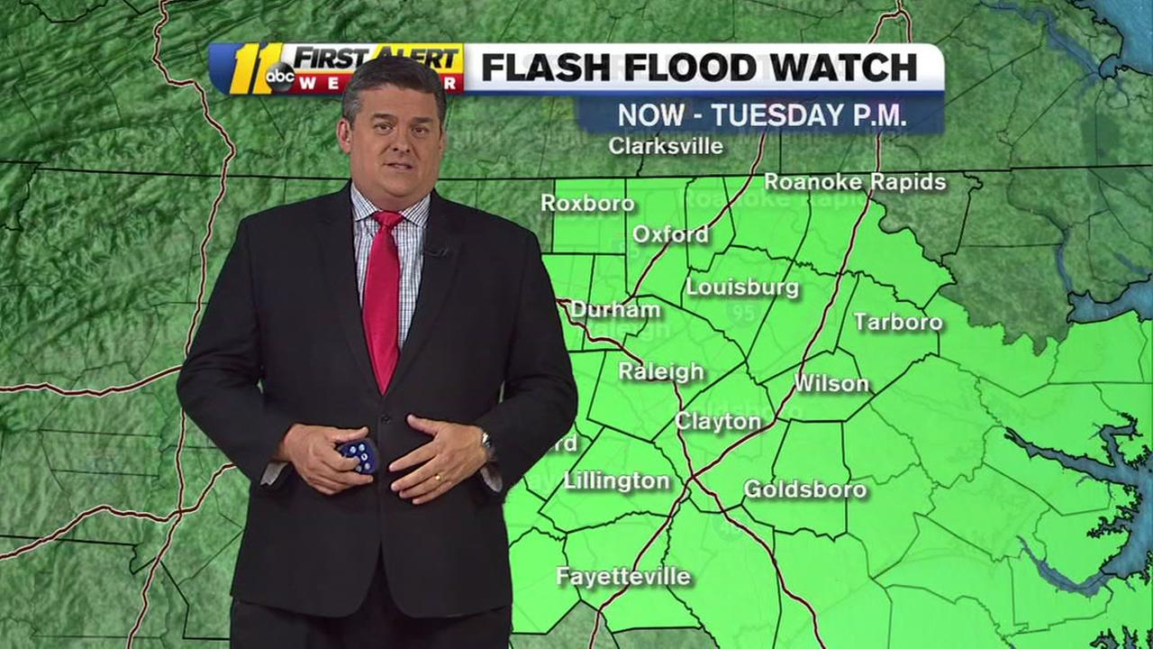 Flash Flood Warning in effect for Harnett, western Cumberland, eastern Hoke Counties