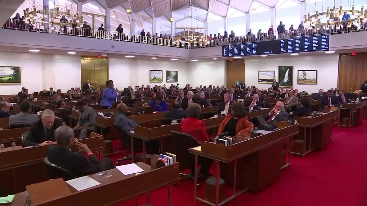 NC General assembly to convene for extra session