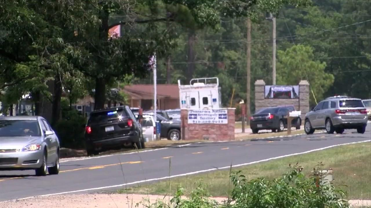 Gambling ring bust in Robeson County